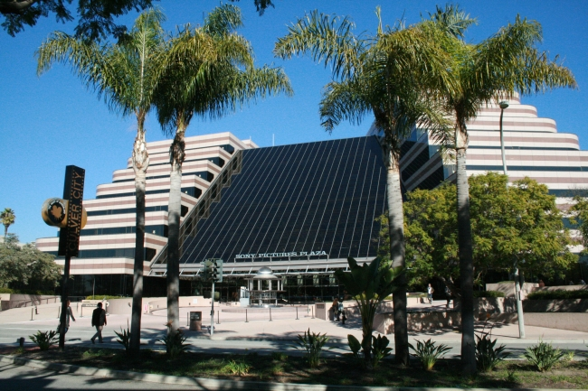 Sony Pictures Plaza, on Madison Avenue, Culver City, in the North-Easter part of the Sony lot