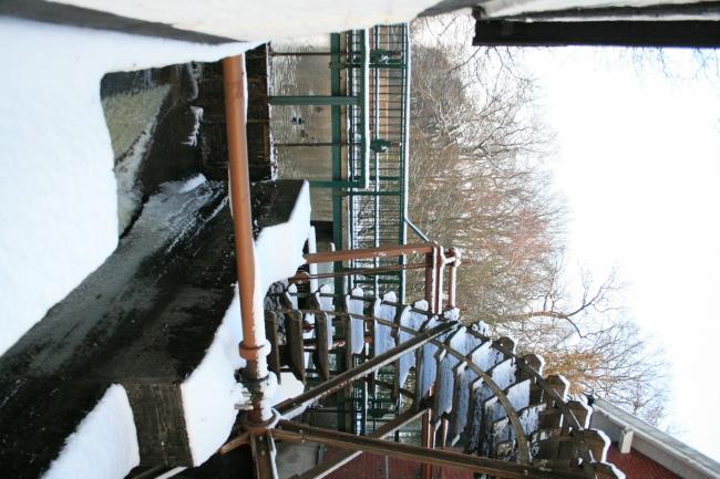 Mühlrad am Rotbachsee,