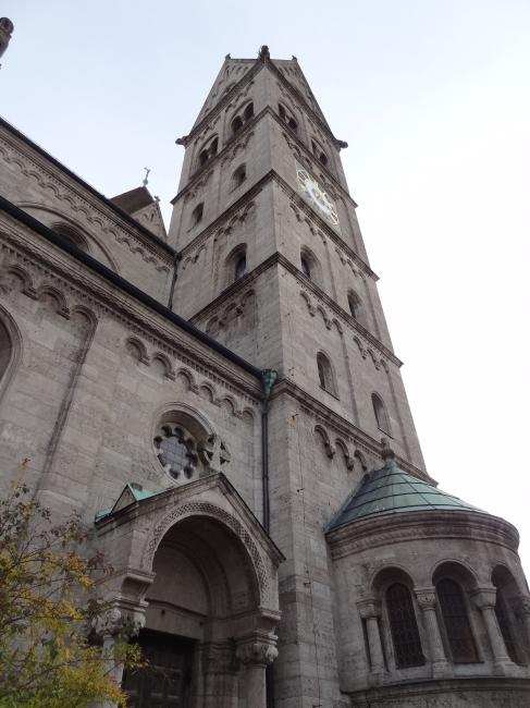 St. Benno Glockenturm Nord, Maxvorstadt München