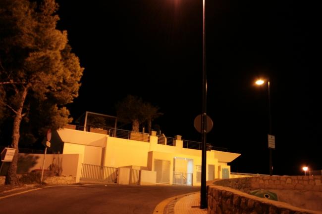 IMG_10027_Beim Hotel Dorrada.JPG, Villa am Mont Benidorm