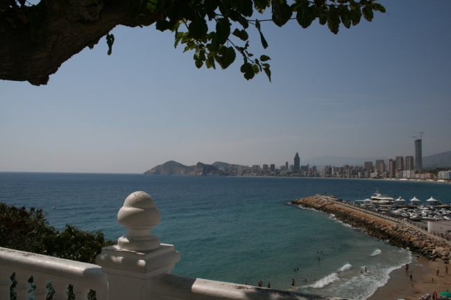 Looking over Pal Mas and Poniente,