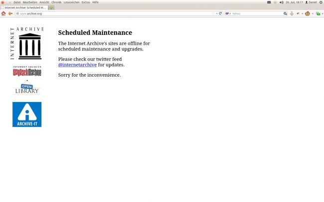 down for scheduled maintenance, down for scheduled maintenance