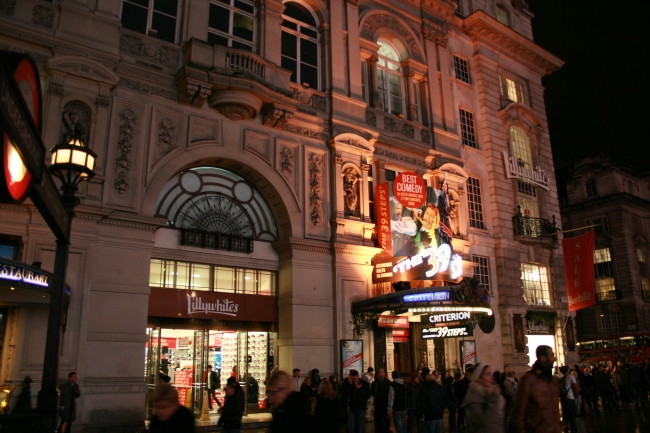 Lillywhites @ Picadilly Circus, and Criterion theatre