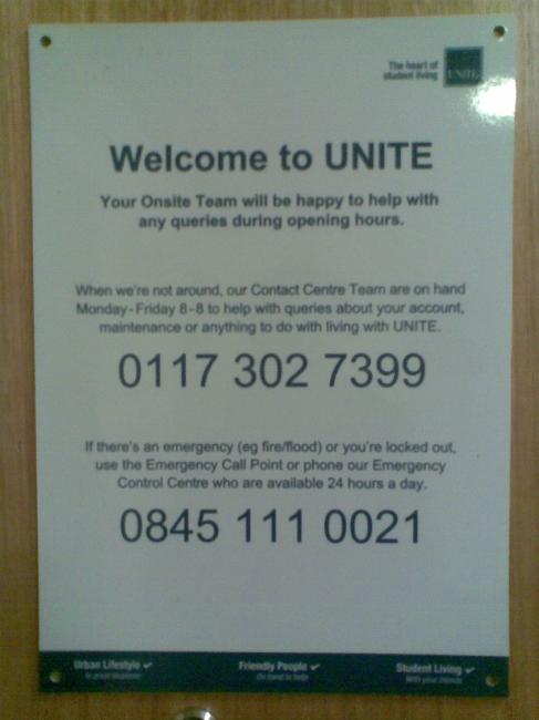 Unite numbers,