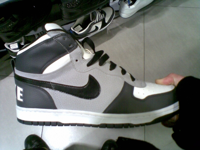 Nike Grey, White and Black sneakers,