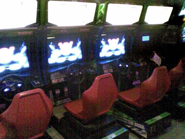 Sega R, cabinets