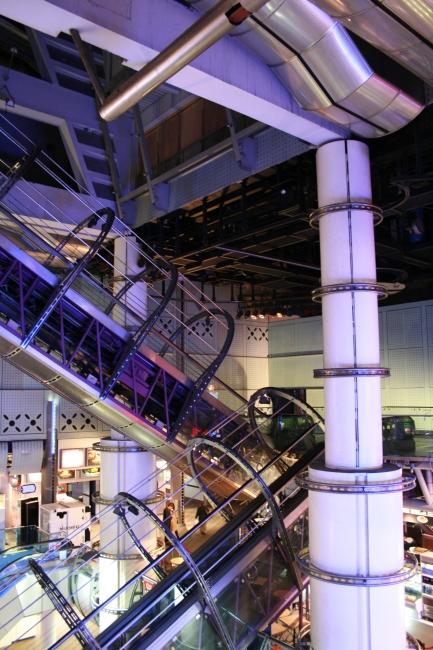 Escalators at Trocadero,
