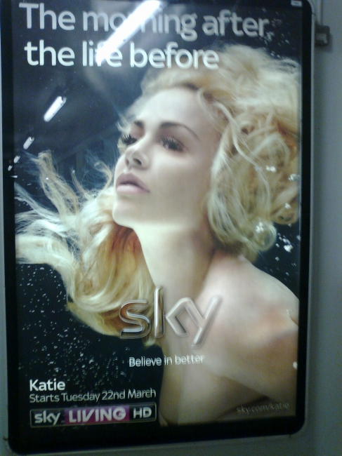 """Sky ad """"Katie"""": The morning after the life before, on the Tube"""