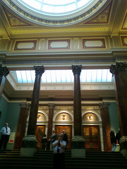 Main hall of National Gallery,