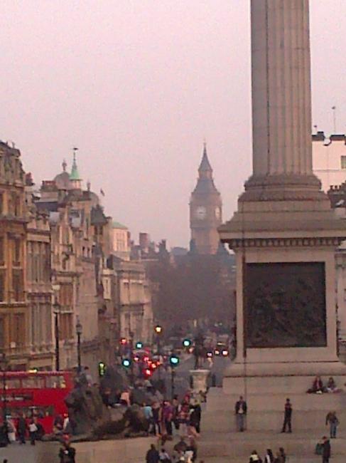 Big Ben in the mist,
