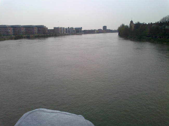 The river Themse,