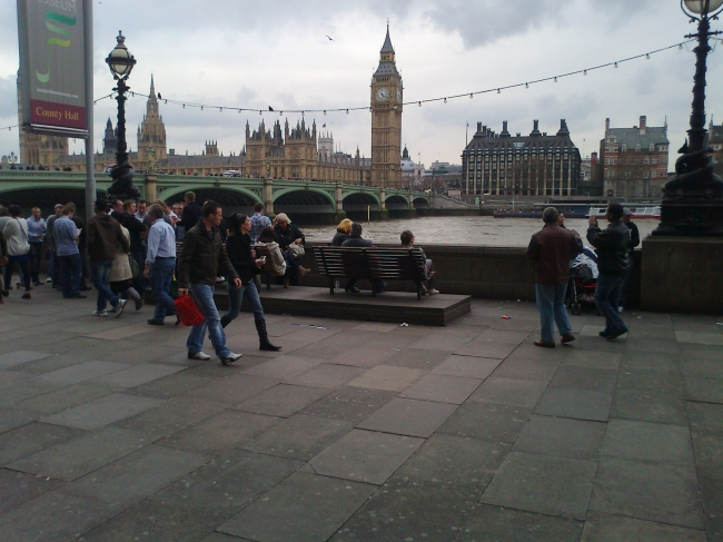 Bridge & Big Ben, Westminster,