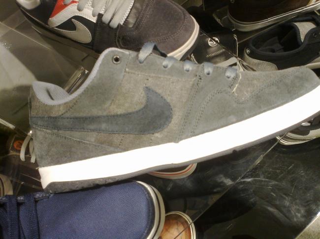 Grey Nikes,