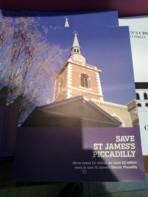 Save St. James's Piccadilly,