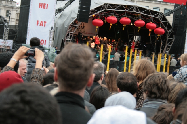 Artistic show, Chinese New Year