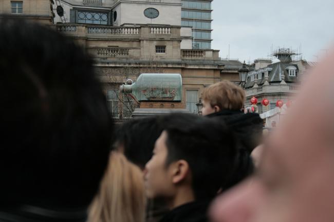 A bottle ship @ Trafalgar,