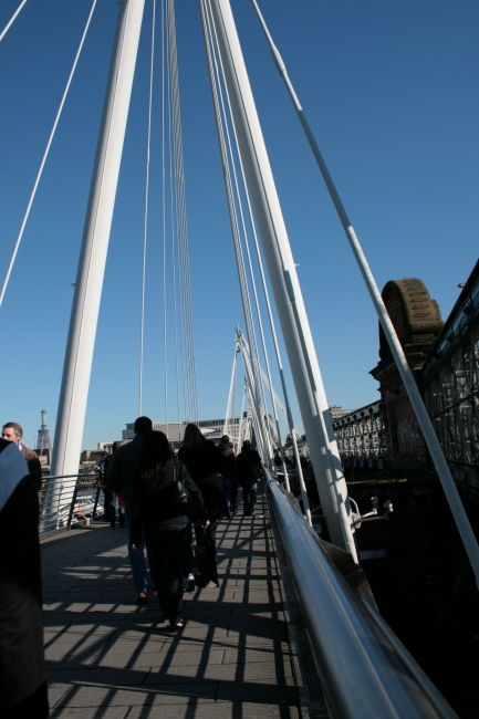 The bridge ofer to Southbank,