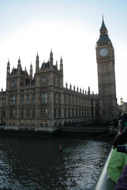 Big Ben, Houses of Parliament vertical,