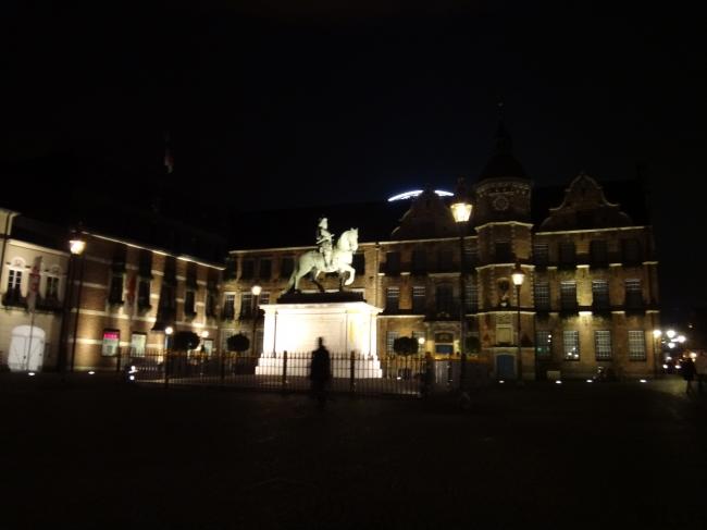 Platz vor dem Rathaus,