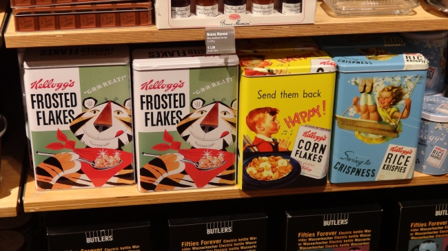 Frosted Flakes Vintage Box, Corn Flakes, Rice Crispies, und co bei Butlers