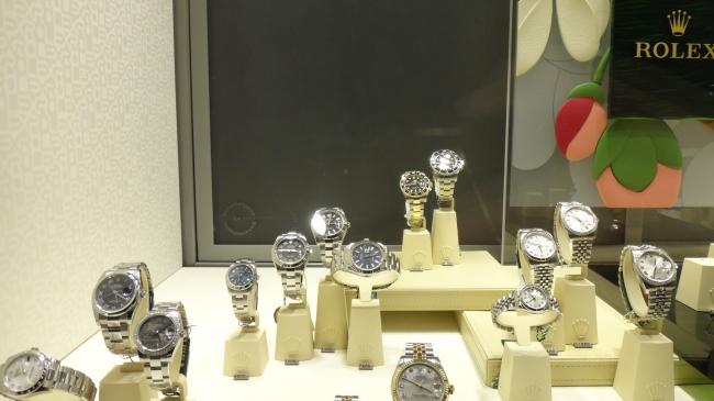 Rolex Auslage, Kö
