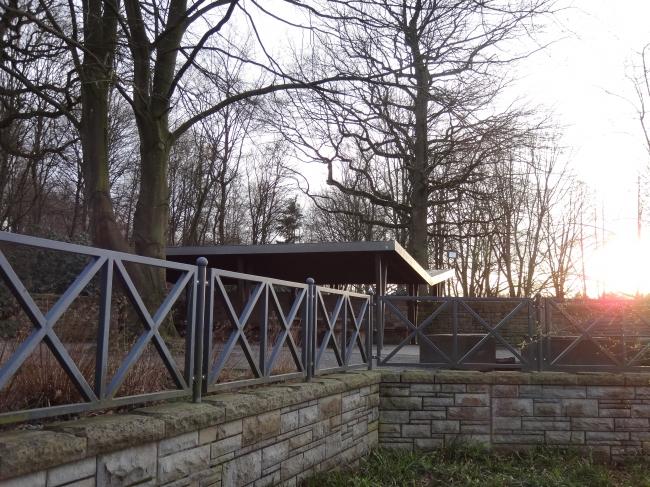 Grillanlage / Picknick Platz am Wolfsee,