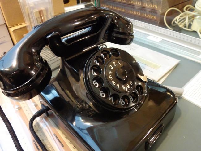 Altes Siemens Telefon, @ Manufactum, Düsseldorf