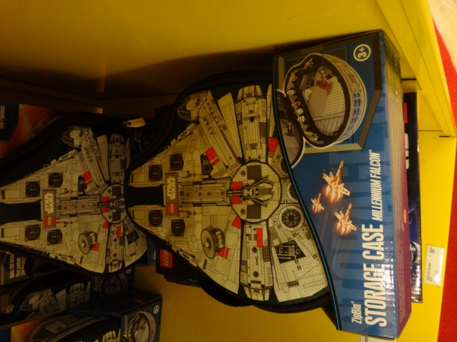 Millennium Falcon Storage Case, Star Wars Disney Lizenz; Zip Bin