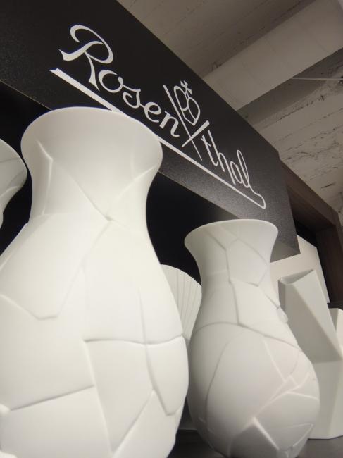 Rosenthal Knitter Scherben look Vasen,