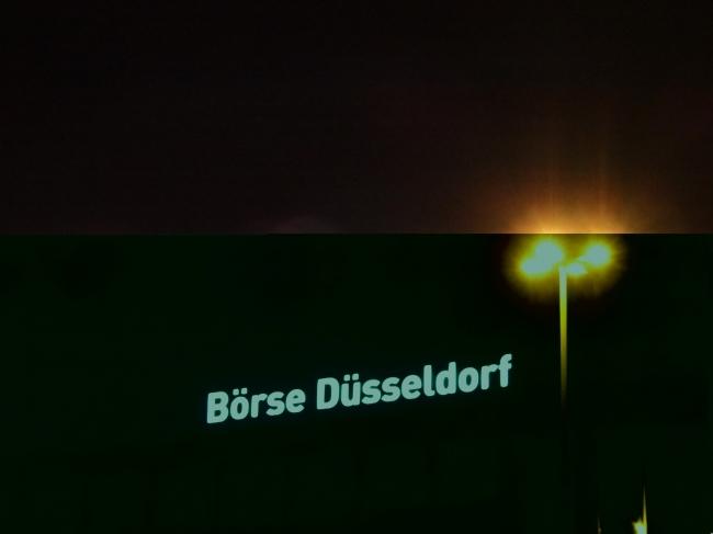 Börse Düsseldorf,