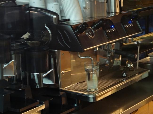 Barista, Kaffeemaschine