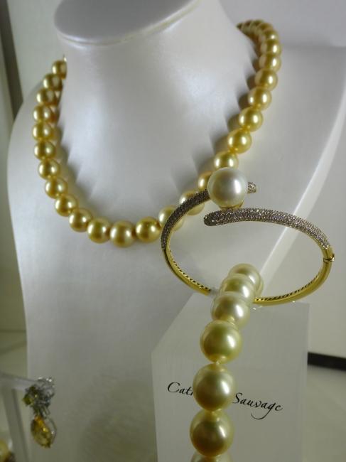 Catherine Sauvage Perlenkette,