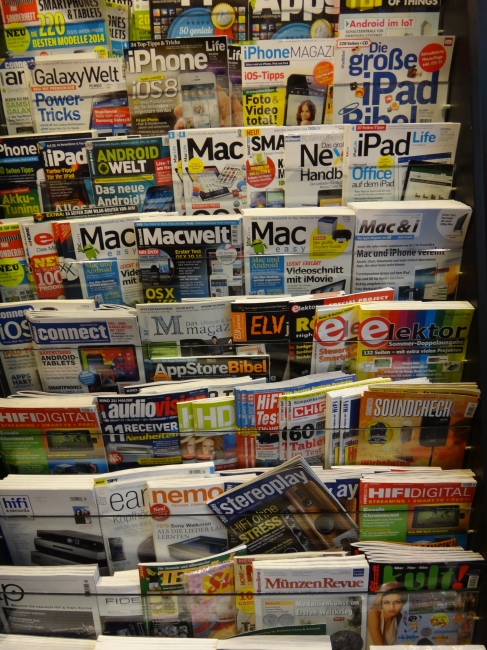 Mac and iPhone Magazines,