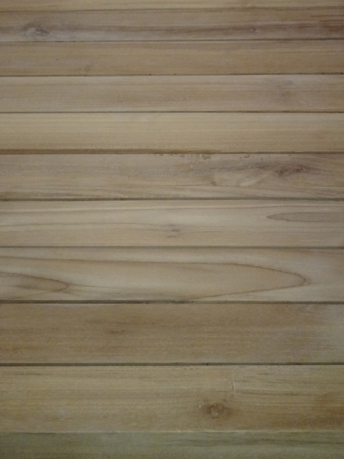 Light wood of a deck table,