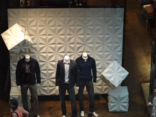 Shop window pattern,
