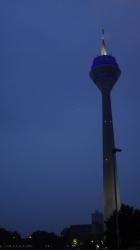 Funkturm at dawn