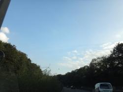 Hot Air Balloon over A59