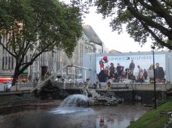 Kaufhof Kö, Bridge and...