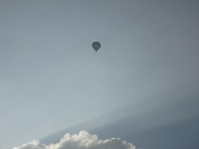 Hot air balloon, Heißluftballon