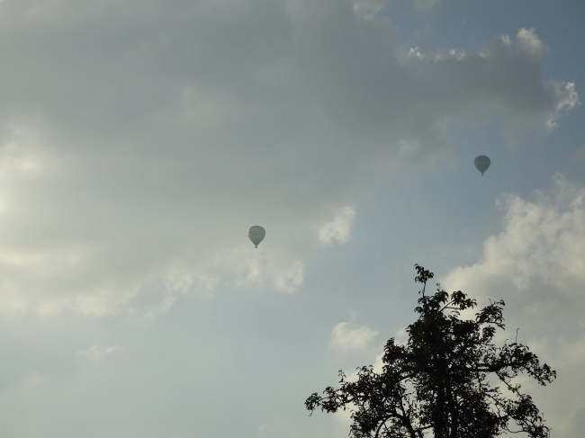 Two balloons,