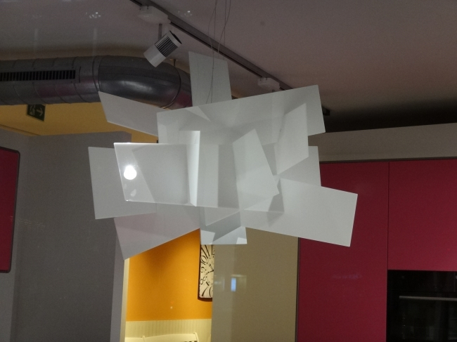 Abstract lamp,