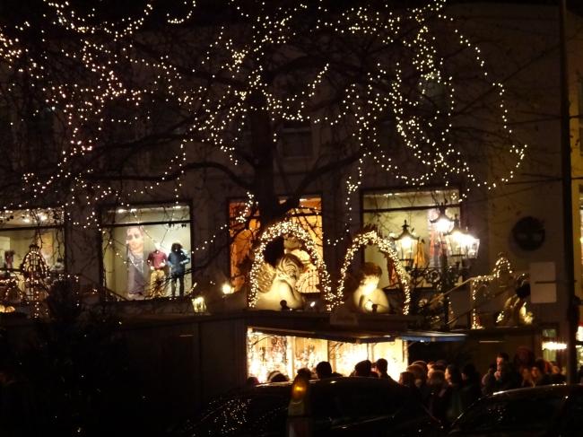 Weihnachtsmarkt am Wilhelm-Marx-Haus,