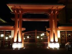 Pagoda gate
