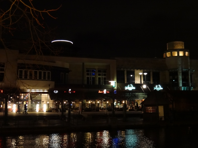 Centro Promenade at night, Zum Apotheker, Louisiana, etc.