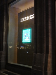 Hermès window, Düsseldorf