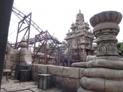 Temple and tracks