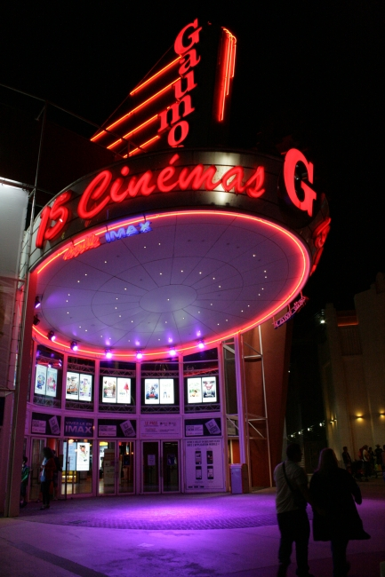 Disney Village: walk: Gaumont's Cinema,