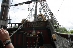 Aboard the Jolly Roger