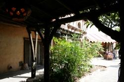 Walking to Agrabah Cafe
