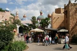 The bazaar at Adventur...